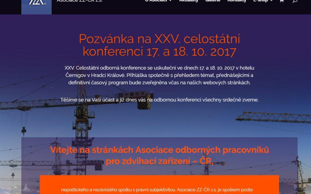 Asociace ZZ-ČR z.s. si Vám dovoluje představit nový web!